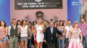 Adriana Volpe dans I Fatti Vostri - 26/09/11 - 08