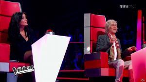 Jenifer Bartoli dans The Voice - 02/03/13 - 06