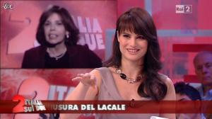 Lorena Bianchetti dans Italia Sul Due - 24/04/12 - 05
