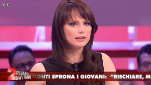 Lorena Bianchetti dans Italia Sul Due - 25/05/12 - 09