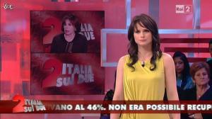 Lorena Bianchetti dans Italia Sul Due - 27/03/12 - 11