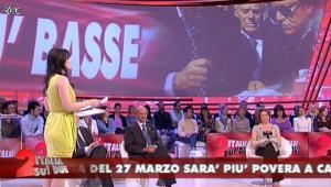 Lorena Bianchetti dans Italia Sul Due - 27/03/12 - 18