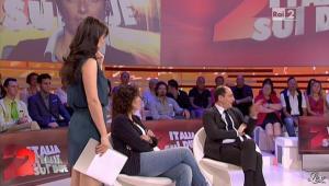 Lorena Bianchetti dans Italia Sul Due - 28/09/11 - 14