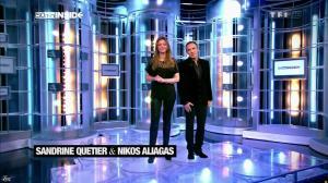 Sandrine Quétier dans 50 Minutes Inside - 02/03/13 - 01