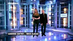 Sandrine Quétier dans 50 Minutes Inside - 02/03/13 - 02