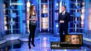 Sandrine Quétier dans 50 Minutes Inside - 05/01/13 - 08