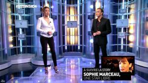 Sandrine Quétier dans 50 Minutes Inside - 09/02/13 - 08