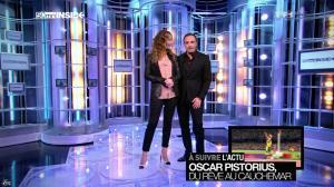 Sandrine Quétier dans 50 Minutes Inside - 23/02/13 - 04