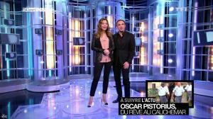 Sandrine Quétier dans 50 Minutes Inside - 23/02/13 - 05