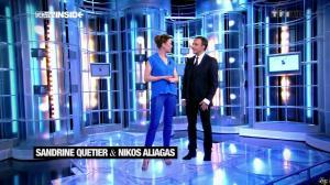 Sandrine Quétier dans 50 Minutes Inside - 23/03/13 - 05