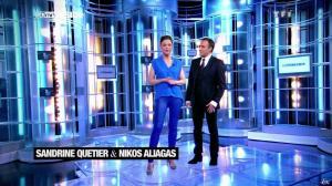 Sandrine Quétier dans 50 Minutes Inside - 23/03/13 - 06