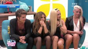 Alexia, Florine et Clara dans Secret Story - 12/07/13 - 02