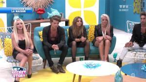 Alexia, Florine et Clara dans Secret Story - 12/07/13 - 04
