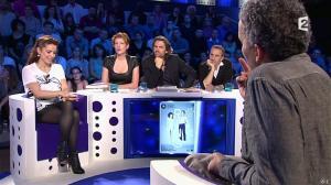 Audrey Dana et Natacha Polony dans On n'est pas Couché - 26/10/13 - 81
