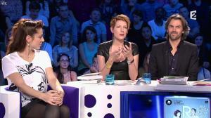 Audrey Dana et Natacha Polony dans On n'est pas Couché - 26/10/13 - 82