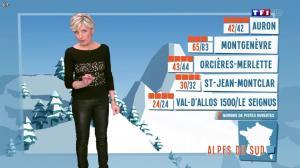 Evelyne Dhéliat à la Météo de 20h - 20/02/14 - 02