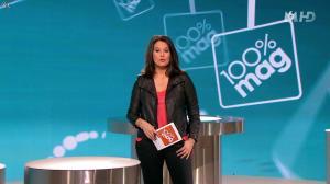 Faustine Bollaert dans 100 Mag - 19/02/14 - 06
