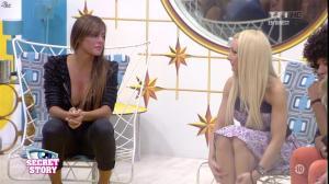 Florine et Anais dans Secret Story - 05/07/13 - 04