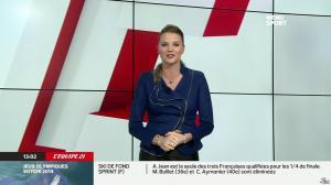 France Pierron dans Menu Sport - 11/02/14 - 04