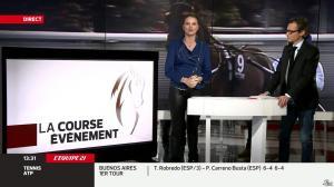 France Pierron dans Menu Sport - 11/02/14 - 05