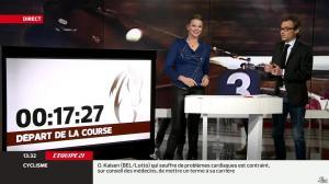 France Pierron dans Menu Sport - 11/02/14 - 06