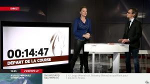 France Pierron dans Menu Sport - 11/02/14 - 07