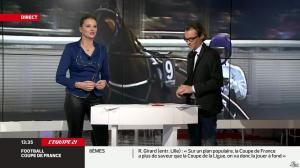 France Pierron dans Menu Sport - 11/02/14 - 08