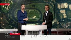 France Pierron dans Menu Sport - 11/02/14 - 09
