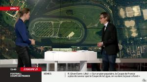 France Pierron dans Menu Sport - 11/02/14 - 10