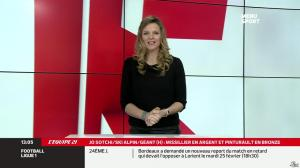 France Pierron dans Menu Sport - 19/02/14 - 05