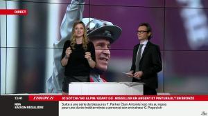 France Pierron dans Menu Sport - 19/02/14 - 09