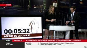 France Pierron dans Menu Sport - 19/02/14 - 10