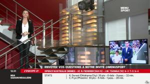France Pierron dans Menu Sport - 20/01/14 - 04