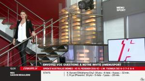 France Pierron dans Menu Sport - 20/01/14 - 05