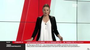 France Pierron dans Menu Sport - 20/01/14 - 06