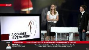 France Pierron dans Menu Sport - 21/02/14 - 09