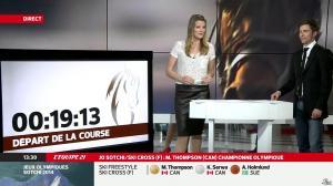 France Pierron dans Menu Sport - 21/02/14 - 10