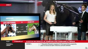 France Pierron dans Menu Sport - 21/02/14 - 12