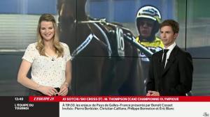 France Pierron dans Menu Sport - 21/02/14 - 14