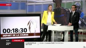 France Pierron dans Menu Sport - 26/02/14 - 07
