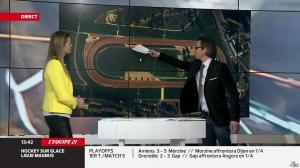 France Pierron dans Menu Sport - 26/02/14 - 08
