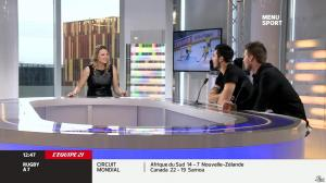 France Pierron dans Menu Sport - 27/01/14 - 10