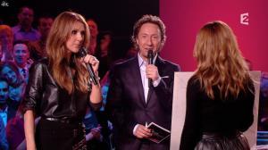 Julie Snyder et Céline Dion dans Céline Dion c est Votre Vie - 16/11/13 - 033