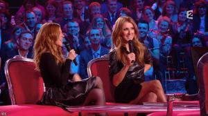 Julie Snyder et Céline Dion dans Céline Dion c est Votre Vie - 16/11/13 - 035