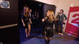 Julie Snyder et Céline Dion dans Céline Dion c'est Votre Vie - 16/11/13 - 038