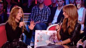 Julie Snyder et Céline Dion dans Céline Dion c'est Votre Vie - 16/11/13 - 086