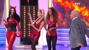 Les Gafettes, Fanny Veyrac, Doris Rouesne et Nadia Aydanne dans le Juste Prix - 31/10/13 - 05
