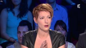 Natacha Polony dans On n'est pas Couché - 26/10/13 - 04