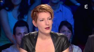 Natacha Polony dans On n'est pas Couché - 26/10/13 - 19