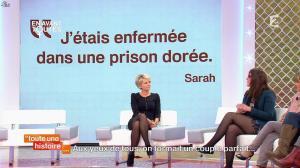 Sophie Davant dans Toute une Histoire - 03/03/14 - 05